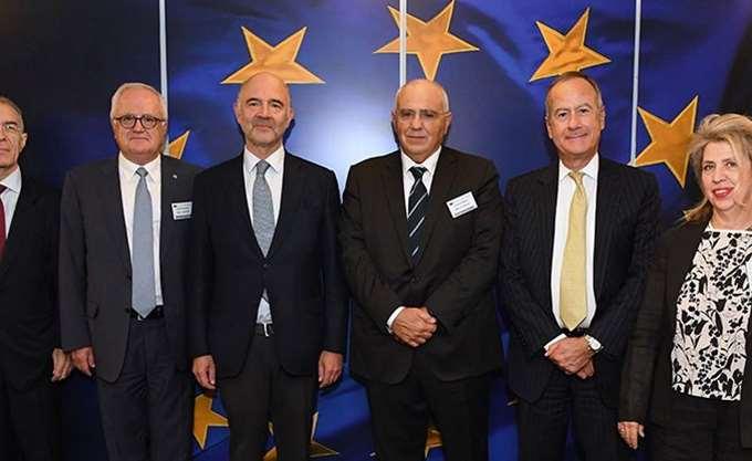 Κύκλος συναντήσεων της Ελληνικής Ένωσης Τραπεζών στις Βρυξέλλες