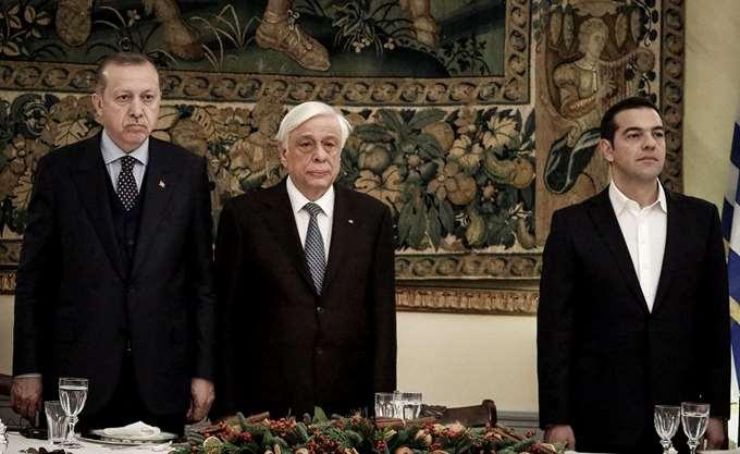 """Εφ' όλης της ύλης """"πινγκ πονγκ"""" Τσίπρα – Ερντογάν"""