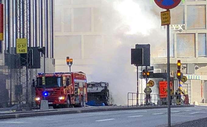 Σουηδία: Έκρηξη σε άδειο λεωφορείο στο κέντρο της Στοκχόλμης