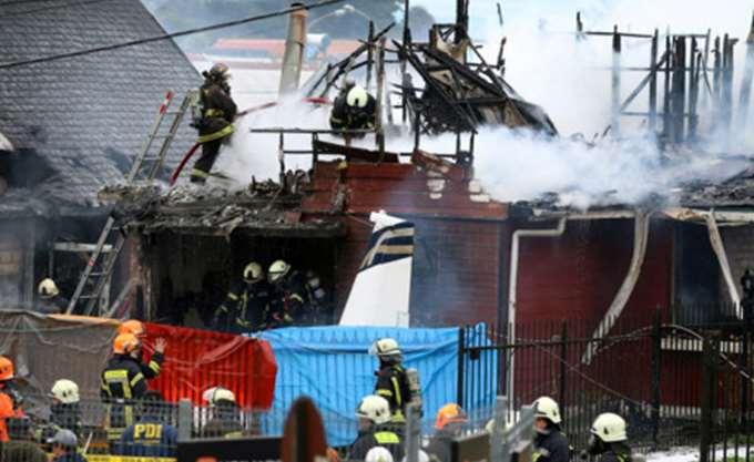 Χιλή: Μικρό αεροπλάνο έπεσε σε σπίτι