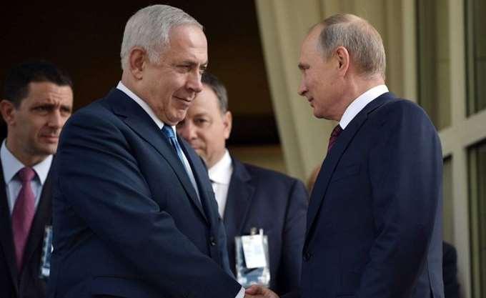 Πρώτη συνάντηση μεταξύ Πούτιν - Νετανιάχου μετά την κατάρριψη του ρωσικού αεροσκάφους