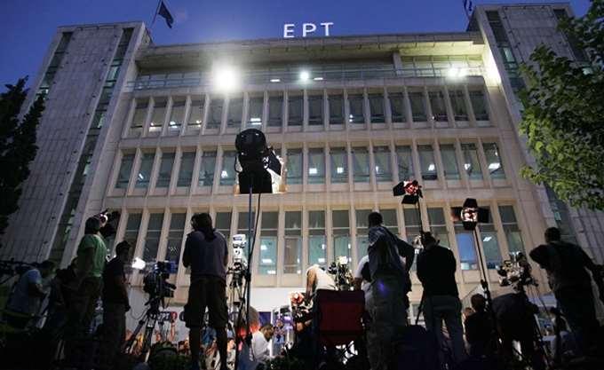 """""""Εισβολή"""" εκπαιδευτικών στην ΕΡΤ - Διεκόπη προσωρινά το δελτίο ειδήσεων της ΕΡΤ1"""
