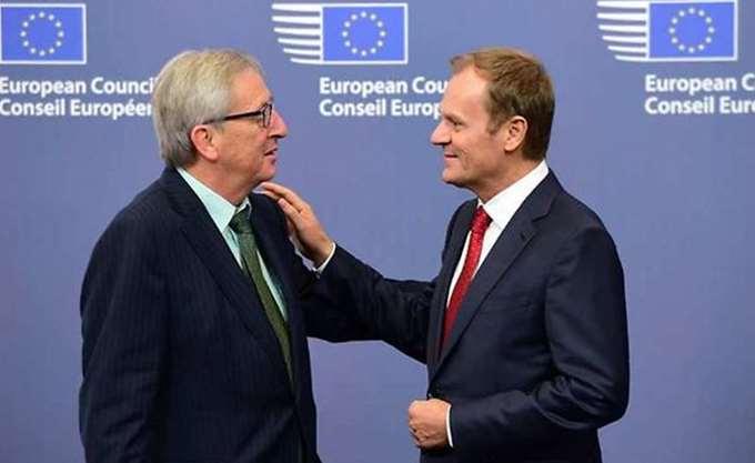 Συνάντηση Μέι με Γιούνκερ και Τουσκ στις Βρυξέλλες