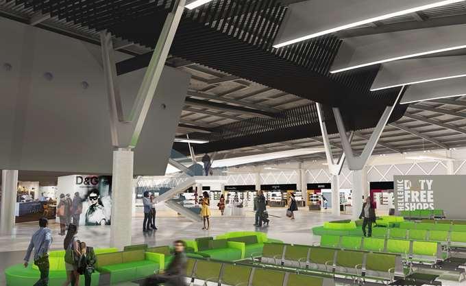 Εγκαινιάστηκαν τα θεμέλια του νέου αεροδρομίου Θεσσαλονίκης