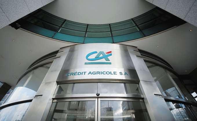 Υποχώρησαν τα κέρδη α΄ τριμήνου της Credit Agricole