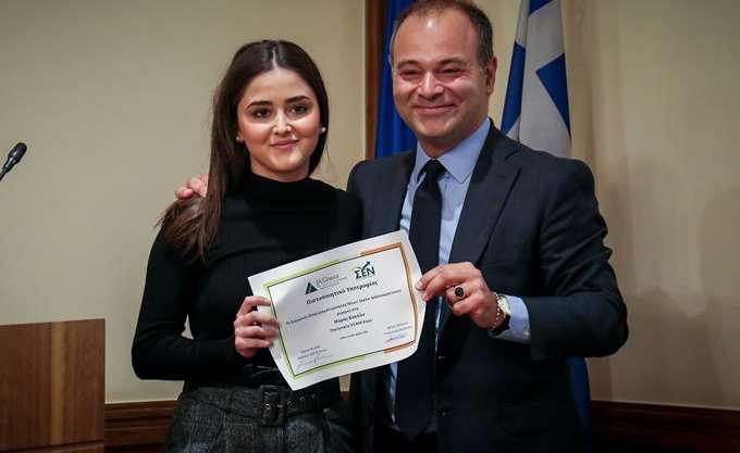 Μαθητική υποτροφία 20.000 ευρώ απένειμε το Σωματείο Επιχειρηματικότητας Νέων - Youth Achievement