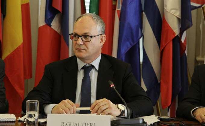Γκαλτιέρι: Μεγάλη επιτυχία για την Ευρωζώνη η ολοκλήρωση του ελληνικού προγράμματος
