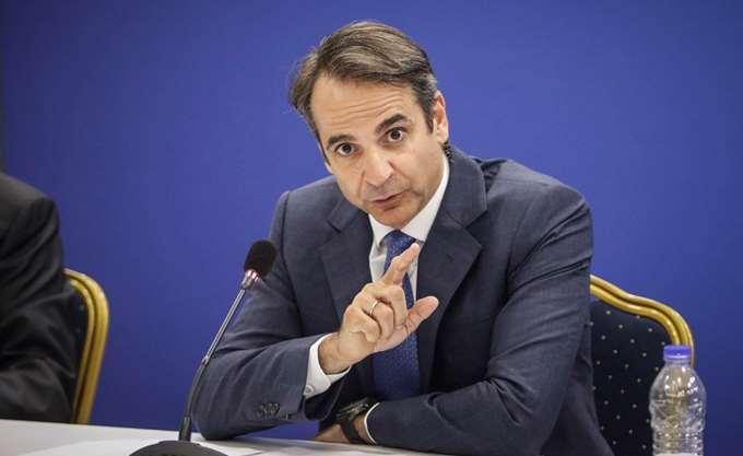 Κ. Μητσοτάκης: Η χώρα βαδίζει σε διπλά ναρκοθετημένο δρόμο