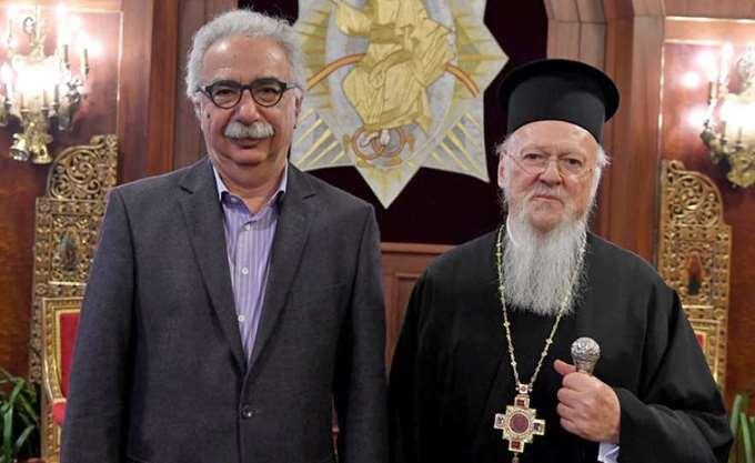 Στο Οικουμενικό Πατριαρχείο μεταβαίνει ο Κ. Γαβρόγλου