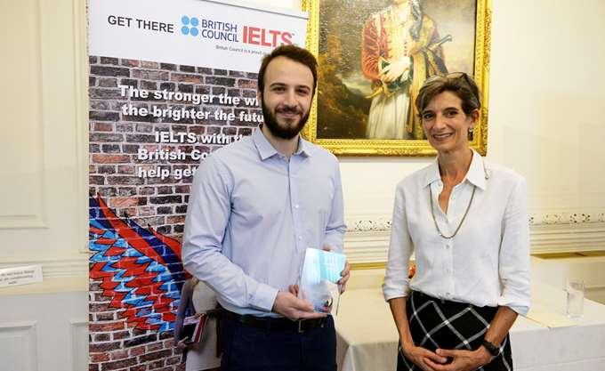 Το British Council απένειμε το βραβείο IELTS 2018