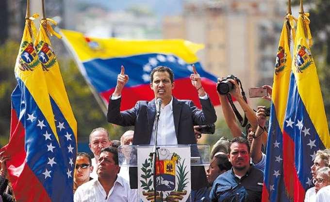 Βενεζουέλα: Ο Γκουαϊδό θέλει συνεργασία με το Πεντάγωνο των ΗΠΑ για να τερματιστεί η πολιτική κρίση