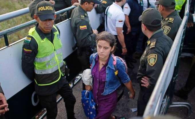 Η Κολομβία απαγόρευσε την είσοδο συγγενικών προσώπων του Μαδούρο