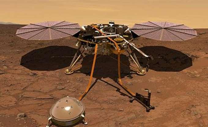 Το InSight της NASA κατέγραψε τον άνεμο στον Άρη