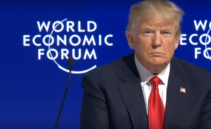 """Τραμπ στο Νταβός: """"Αμερική Πρώτη"""" δεν σημαίνει """"Αμερική Μόνη"""""""