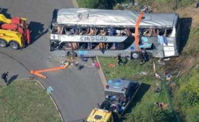Πολωνία: Τρεις νεκροί σε τροχαίο με ουκρανικό τουριστικό λεωφορείο