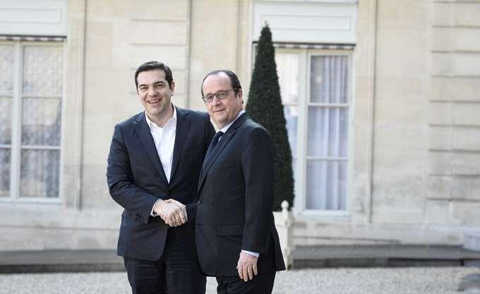 """Ολάντ σε Τσίπρα: """"Κέρδισες, αλλά η Ελλάδα έχασε"""""""