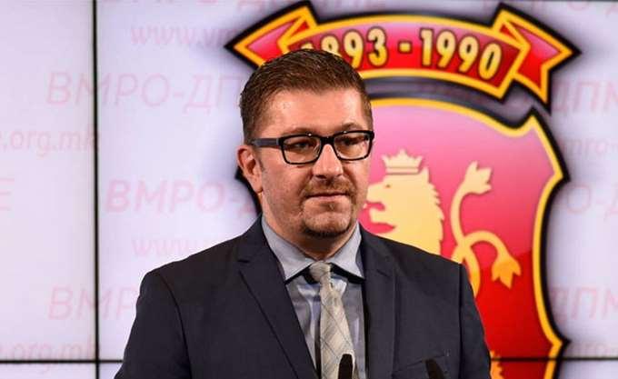 """Μίτσκοσκι (VMRO): """"Η """"Μακεδονία"""" σήμερα είπε ότι η συμφωνία δεν περνάει"""""""