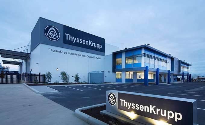 Ζημιές για το 2017 εμφάνισε η Thyssenkrupp