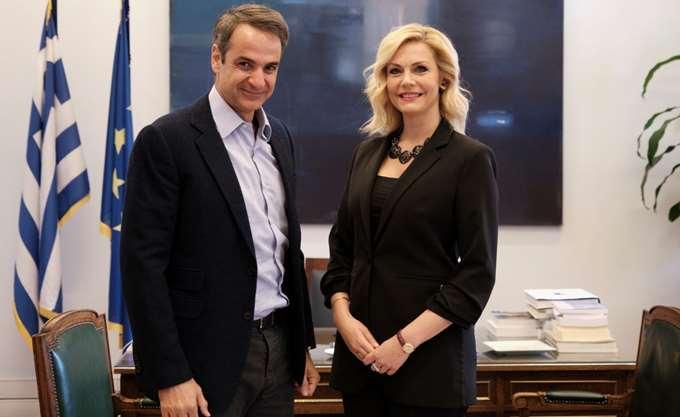 Υποψήφια με τη ΝΔ στον Νότιο Τομέα της Β' Αθηνών η Εμ. Λιβανίου