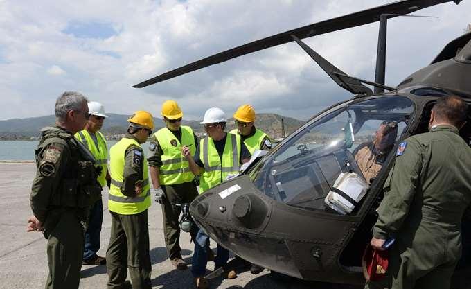Παραλαβή των ελικοπτέρων OH-58D Kiowa Warrior