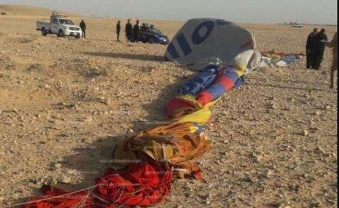 Αίγυπτος: Συνετρίβη αερόστατο που μετέφερε τουρίστες - ένας νεκρός