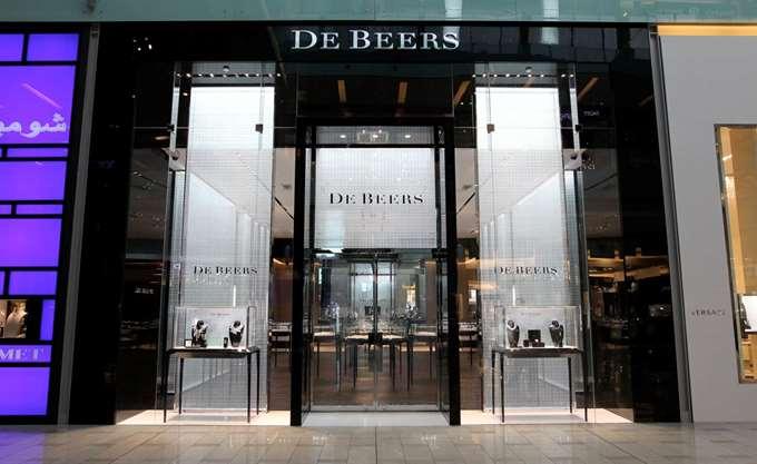 Μειώθηκαν 3,4% οι πωλήσεις διαμαντιών της De Beers Group