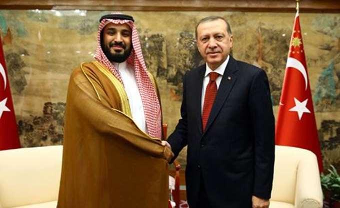 Συνάντηση Ερντογάν - πρίγκιπα Σαλμάν στο περιθώριο της G20