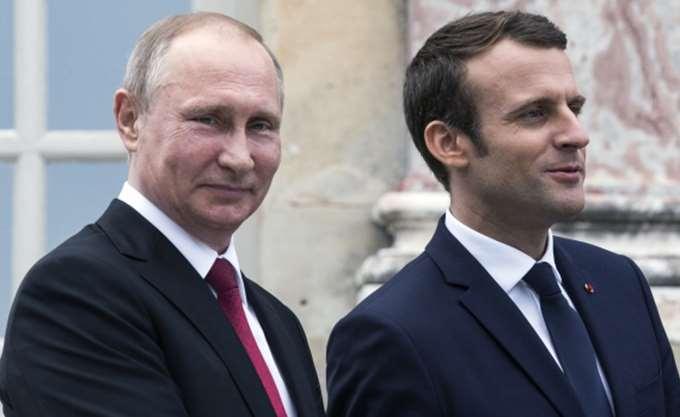 Συνομιλία Μακρόν - Πούτιν για Ιράν και Συρία