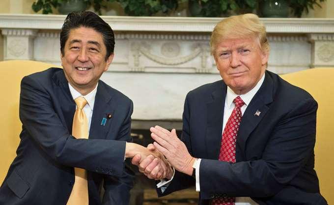 Τραμπ: Συμφωνήσαμε με την Ιαπωνία για έναρξη εμπορικών διαπραγματεύσεων
