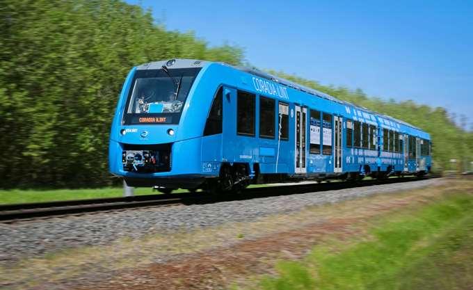 Άρχισε να τρέχει στις ράγες το πρώτο τρένο στον κόσμο που κινείται με υδρογόνο