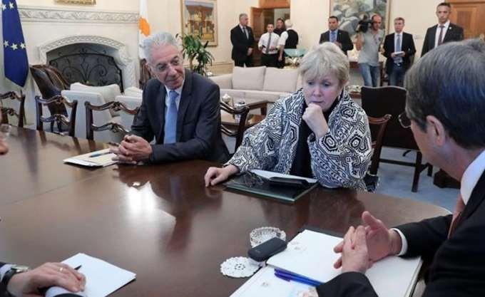 Νέες συναντήσεις της Λουτ με Αναστασιάδη -Ακιντζί θα πραγματοποιηθούν αύριο