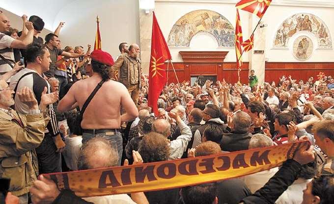 ΠΓΔΜ: Ο Ν. Γκρούεφσκι παραιτήθηκε από αρχηγός του VMRO-DPMNE