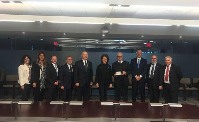 Επαφές της Ενώσεως Ελλήνων Εφοπλιστών στις ΗΠΑ
