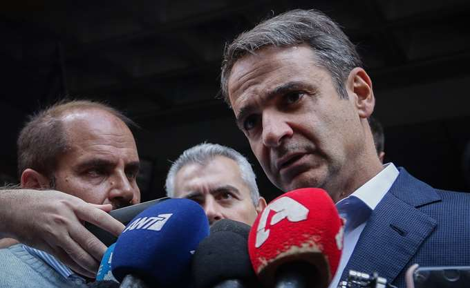 ND leader Mitsotakis reiterates that he will not support Prespes Agreement