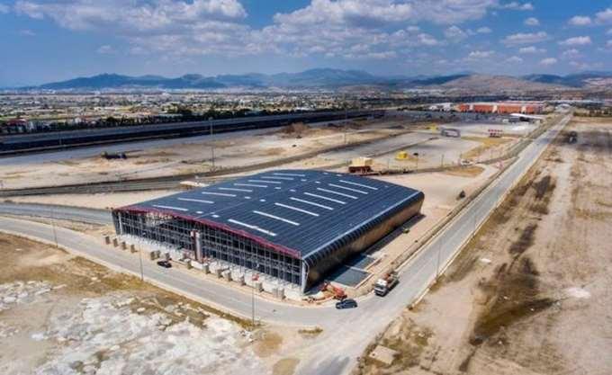 Το πρώτο 6μηνο του 2019 η κατασκευή του εμπορευματικού Θριασίου