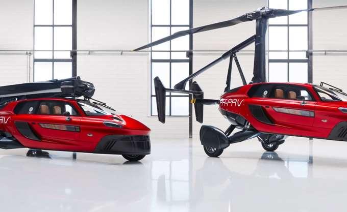Το πρώτο ιπτάμενο αυτοκίνητο είναι διαθέσιμο και στοιχίζει 499.000 ευρώ