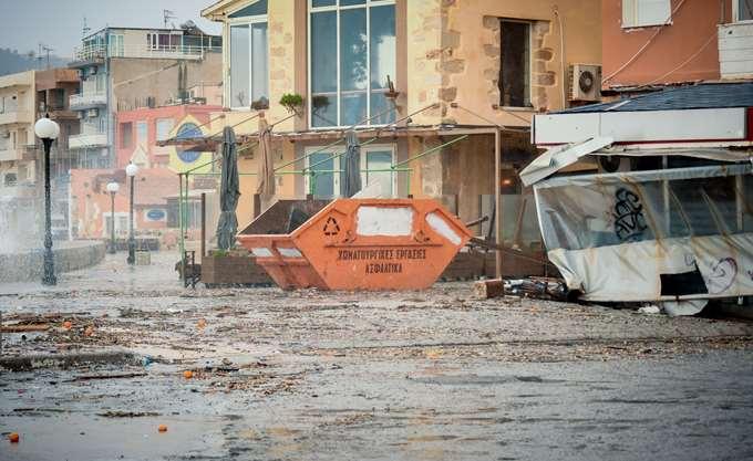 Χανιά: Στα 17 εκατ. ευρώ υπολογίζει ο δήμος το κόστος των ζημιών από την κακοκαιρία
