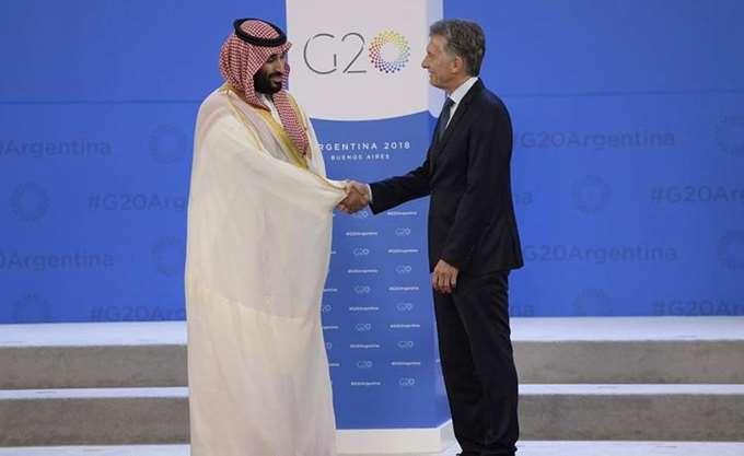G20: Ο πρίγκιπας διάδοχος της Σ. Αραβίας συναντήθηκε με τον πρόεδρο της Αργεντινής