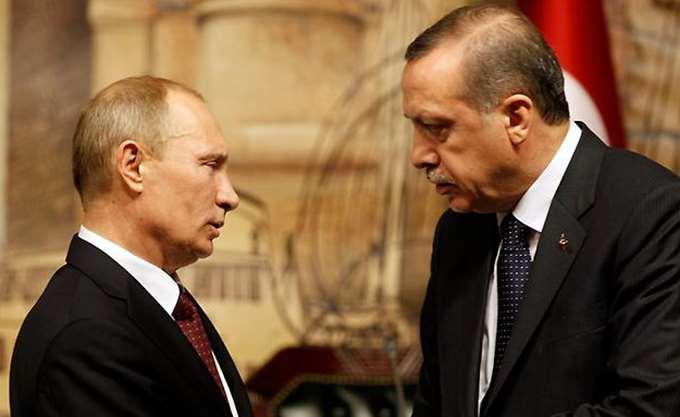 Η διμερής συνεργασία και τα προβλήματα στη Συρία στο επίκεντρο των επαφών Πούτιν-Ερντογάν