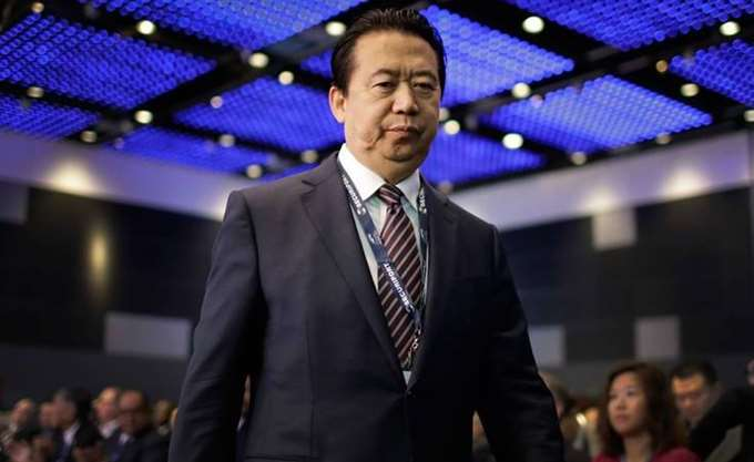 """Κίνα: Οι αρχές ανακοίνωσαν έρευνα κατά του προέδρου της Ιντερπόλ """"για παραβιάσεις του νόμου"""""""