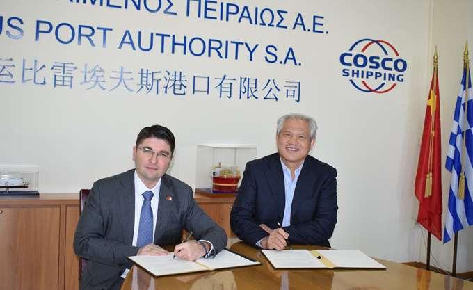 Μνημόνιο συνεργασίας ΟΛΠ και Λιμενικής Αρχής της Βόρειας Αδριατικής Θάλασσας
