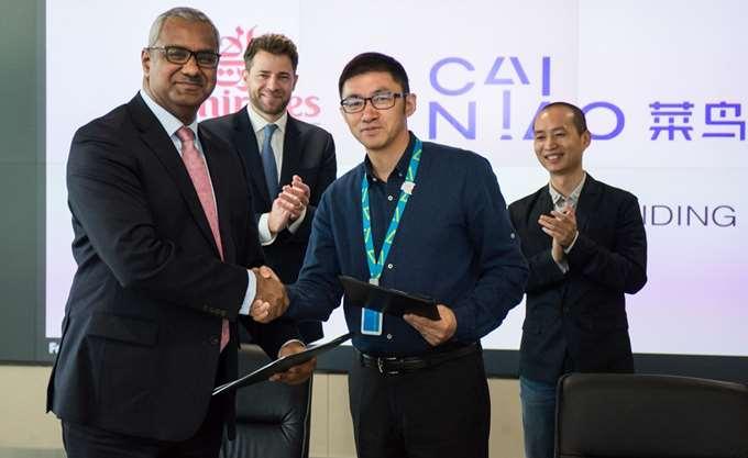 Μνημόνιο κατανόησης υπογράφουν Emirates SkyCargo και Cainiao Network