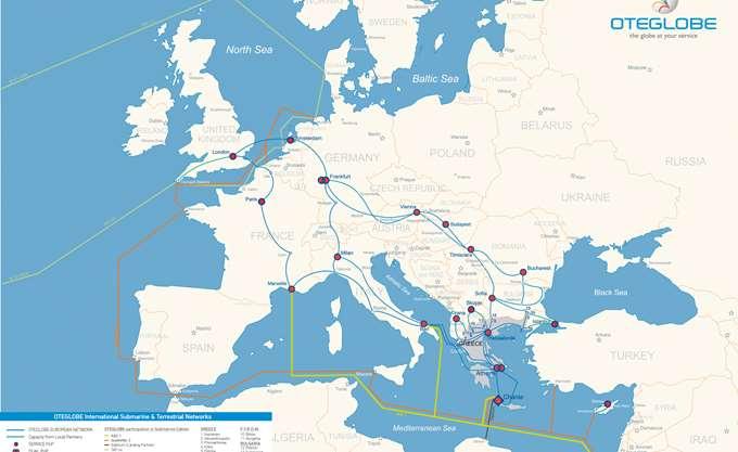 Oteglobe: Νέο πανευρωπαϊκό δίκτυο οπτικών ινών