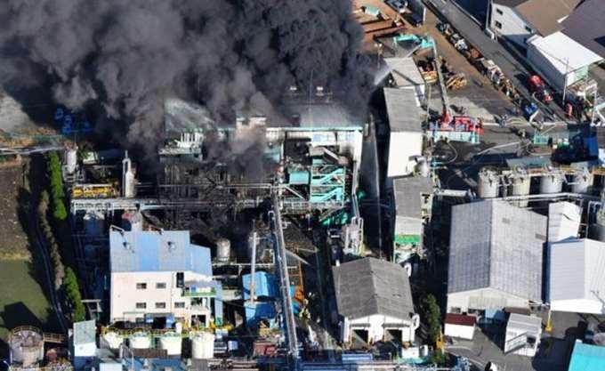 Έκρηξη σε χημικό εργοστάσιο στην Ιαπωνία, τουλάχιστον 14 τραυματίες