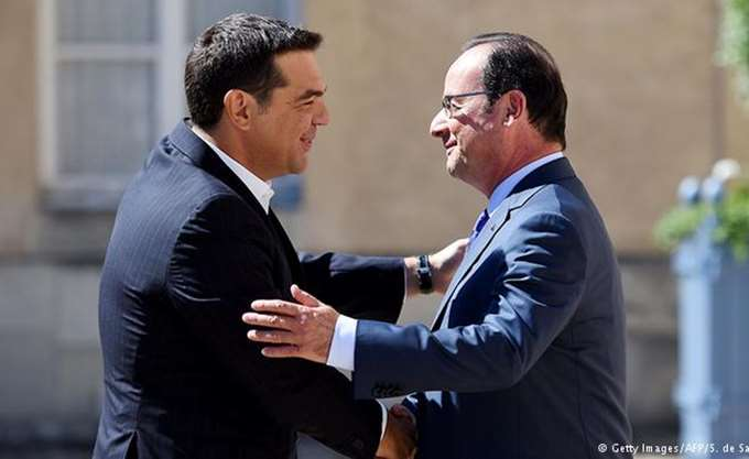 Τσίπρας προς Ολάντ: Ήσασταν πραγματικός φίλος της Ελλάδας στα δύσκολα