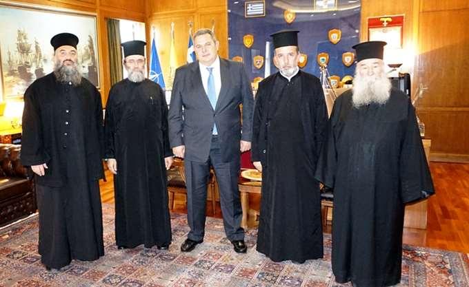 Καμμένος στο πλευρό των Ιερέων για τη συμφωνία Τσίπρα- Ιερώνυμου