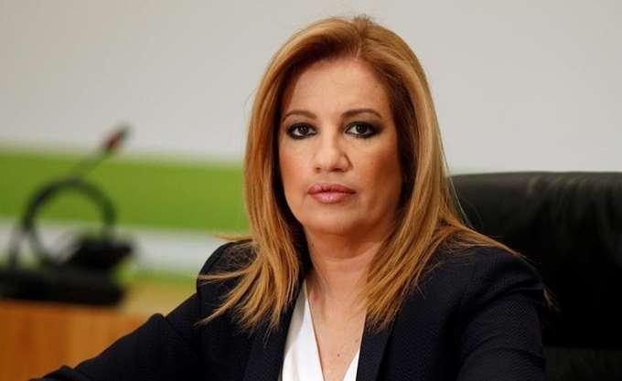 Φ. Γεννηματά: Ο κ. Τσίπρας απεδείχθη ένας αδίστακτος μνηστήρας της εξουσίας