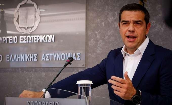 Ο Α. Τσίπρας ανακοίνωσε την κατάργηση της γ.γ. Πολιτικής Προστασίας