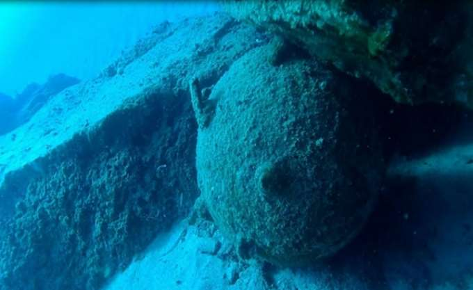 Νάρκη βυθού του Β'ΠΠ εντοπίστηκε στη θαλάσσια περιοχή των Νέων Μουδανίων