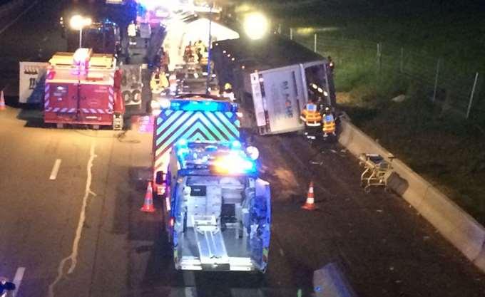 Γαλλία: Τρεις νεκροί σε τροχαίο δυστύχημα με λεωφορείο